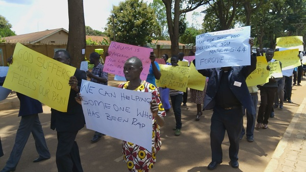 THEA Launched in Gulu, hope for the traumatized.