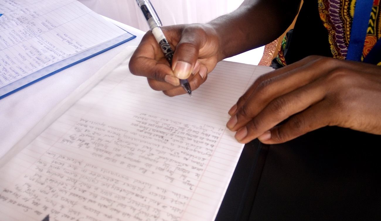 The Handwritten Bible Project Launched in Uganda