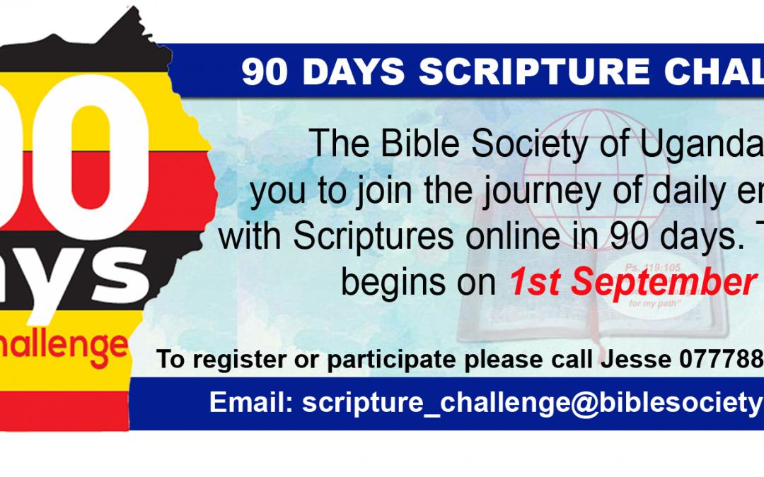 90 Days Scripture Challenge