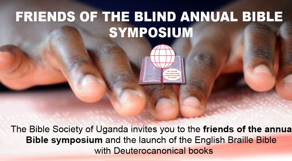 FRIENDS OF THE BLIND SYMPOSIUM