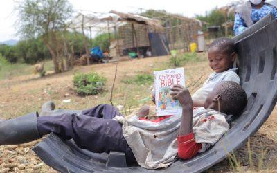 VISITATION OF CHILDREN IN MUHOKYA RESETTLEMENT CAMP