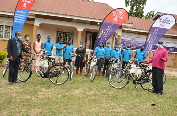 The bicycle bible distribution launch